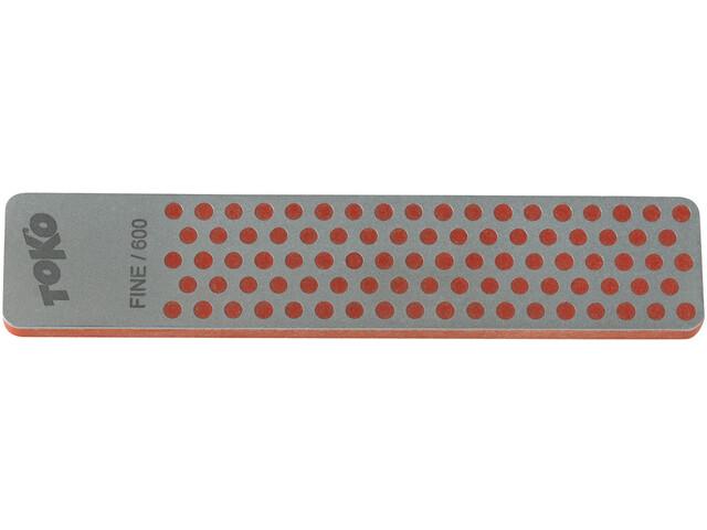 Toko DMT Lima de diamante, gris/rojo